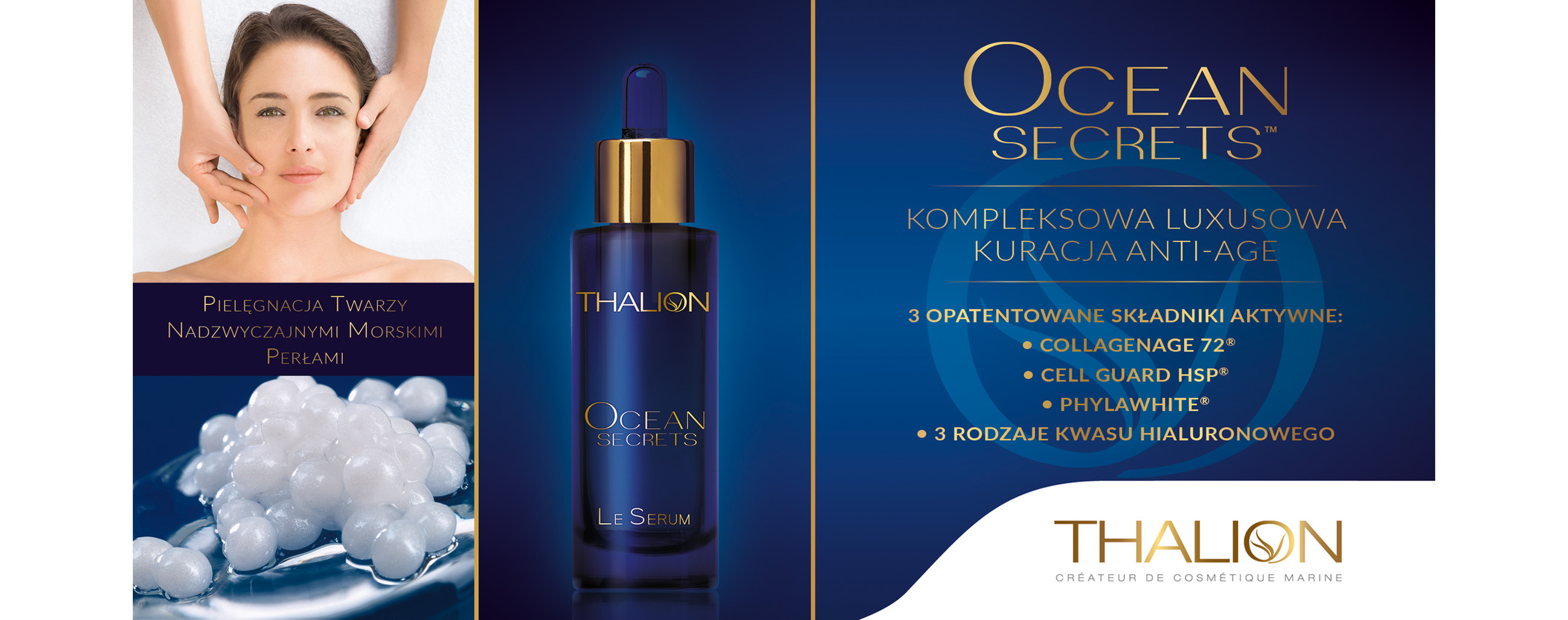 CEAN SECRETS PROFESSIONAL SET LUXURY ANTI-AGE